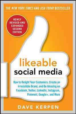Likable Social Media By Kerpen, Dave